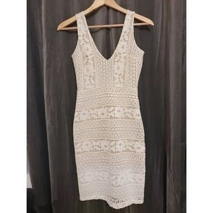 Off white lacey dress